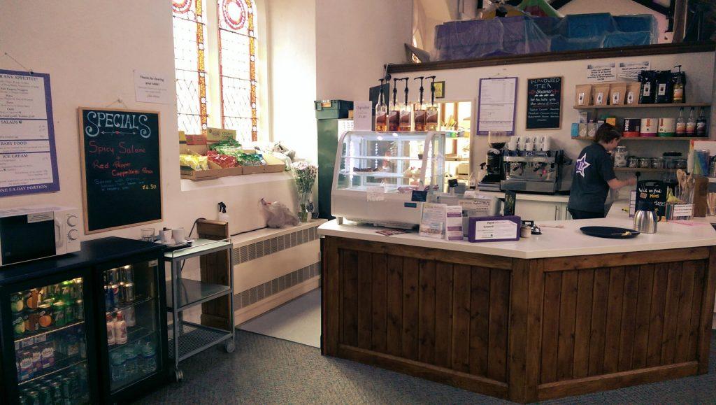 Eden cafe facilities