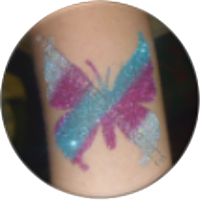 Glitter Tattoos: £25 per party